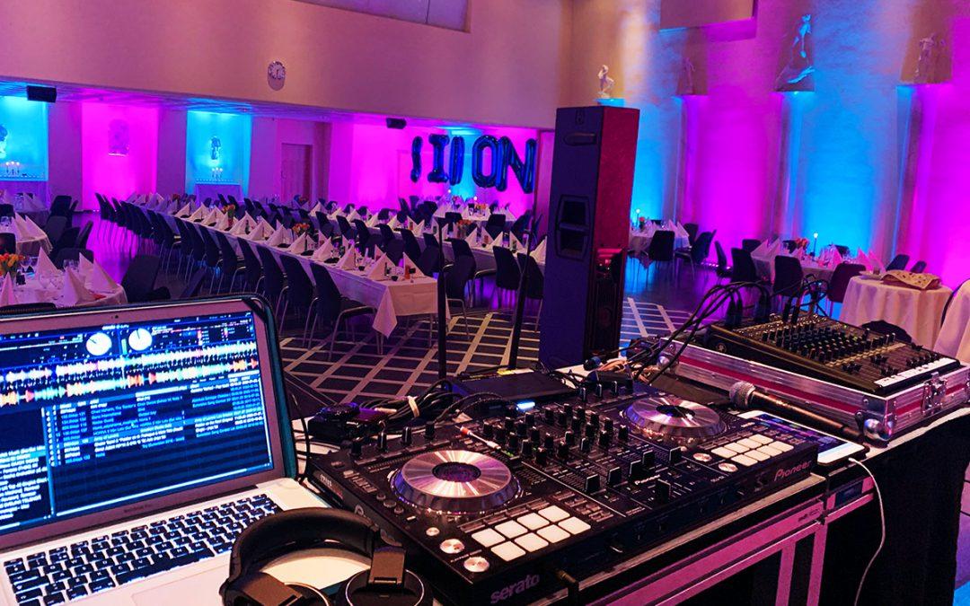Belysning, teknik & DJ i Millessalen på Hotel Foresta