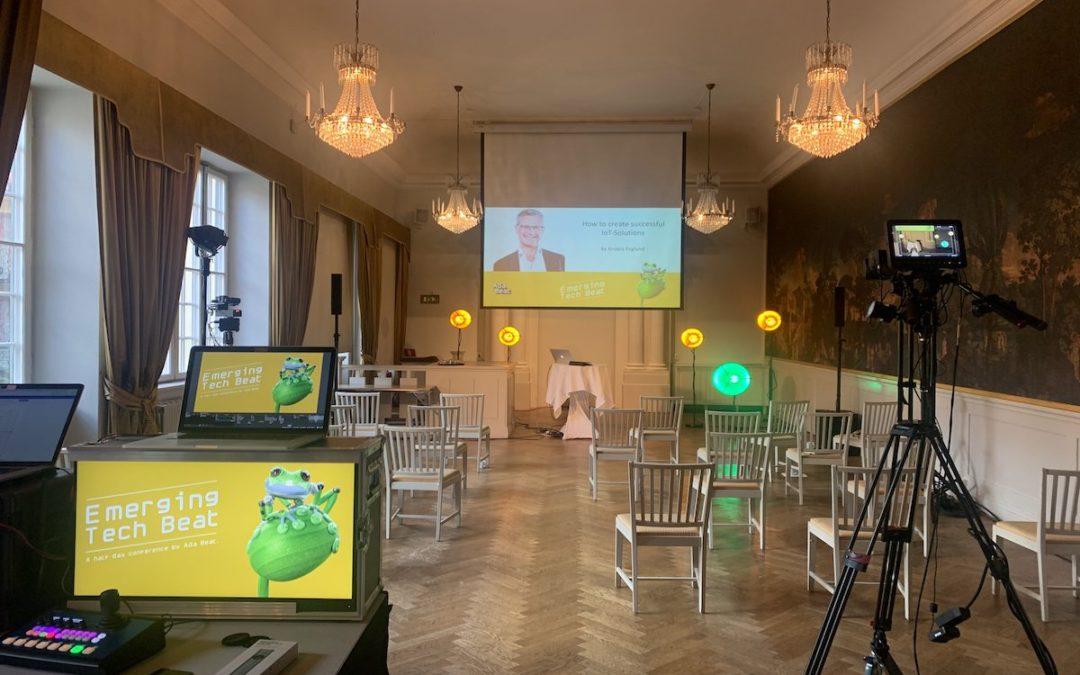 Eventation Livestreamar på Van Der Nootska Palatset