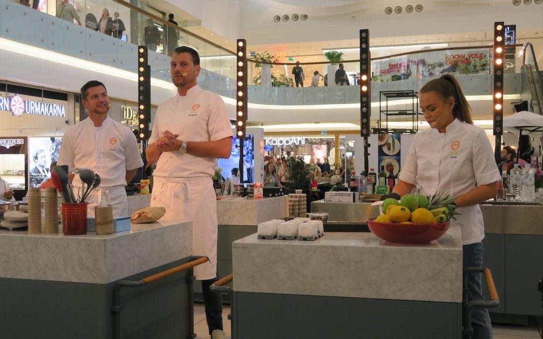 Sveriges mästerkock i Täby Centrum